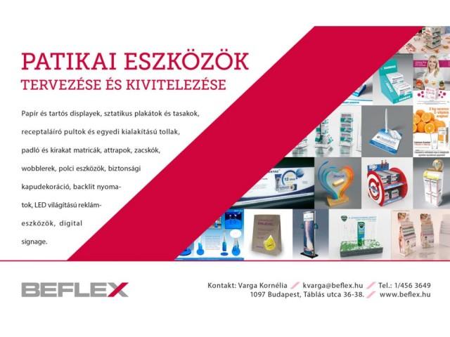 newspaper ad, Sajtóhirdetés: Béflex Kft.