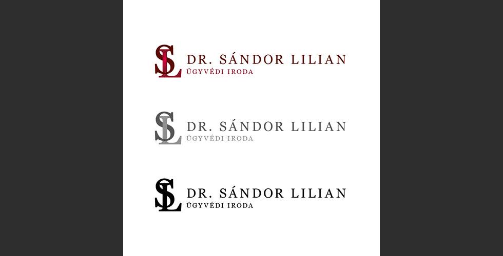 Logótervezés Dr. Sándor Lilian ügyvédi iroda