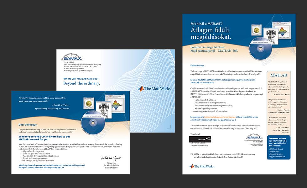 Szórólapok, meghívók, DM levelek tervezése: Gamax Kft.