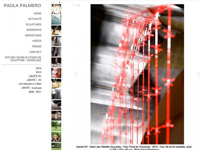 Weboldalkészítés Paola Palmero