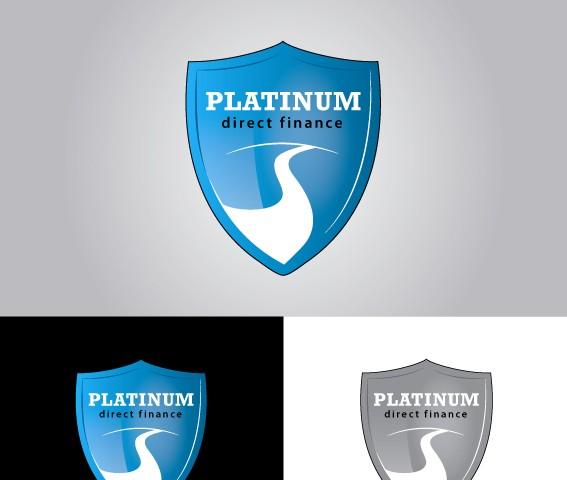 Platinum Direct Finance logótervezés